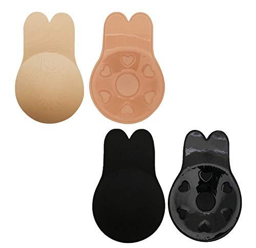 Unsichtbar Convertible Push-up-bh (FLORATA Damen Schwangerschafts- & Still-BH schwarz schwarz D)