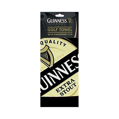 Guinness Label Golf Towel