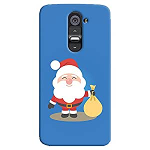 ColourCrust LG G2 / Optimus G2 Mobile Phone Back Cover With LG G2 / Optimus G2 - Durable Matte Finish Hard Plastic Slim Case