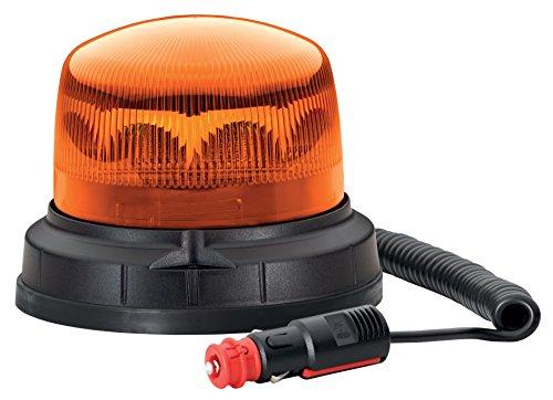 HELLA 2XD 012 480-101 Blitz-Kennleuchte, Xenon, Magnetbefestigung, Ø 155 mm, 12-80 V, gelb Xenon-blitz
