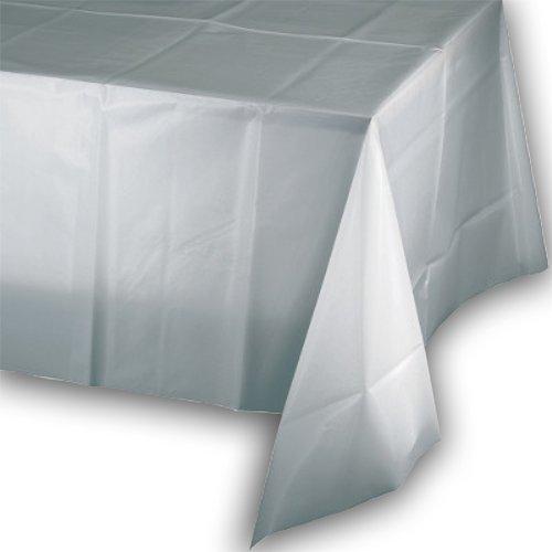 PZ 20 NAPPES en Papier blanche white cm 100 x 100 tissu non tissu similaire à la tissu nappe papier à sec Cloths TNT 50 gr