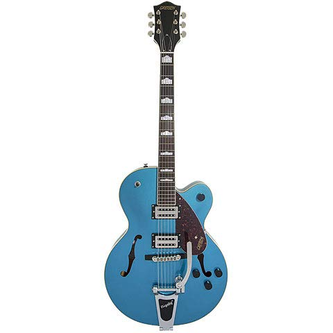 G2420T Streamliner Hollow Body with Bigsby Riviera Blue