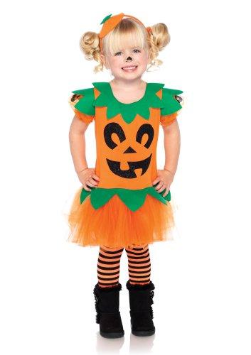 Leg Avenue C28197 - Kostüm Set hübsche Kürbis, Größe 98-116, orange