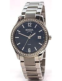 Boccia Damen-Armbanduhr Analog Quarz Titan 3235-04