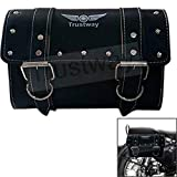#6: Trustway TRY-01 Bike Bag Sturdy and Waterproof Side Rear Saddle Bag Rectangle Tool Bag Black for Royal Enfield Classic 350