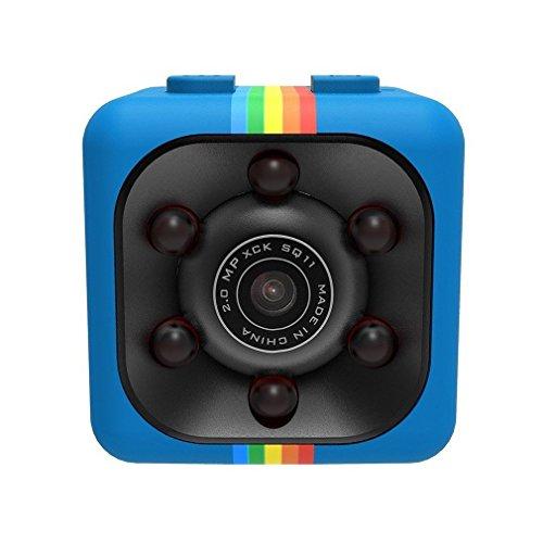 Descripción: SQ11 Mini 1080P Full HD grabadora DVR Diseño compacto, mango portátil. Detección de movimiento, visión nocturna IR. Ángulo amplio de 140 grados. Soporta grabación en bucle. Formato de vídeo: AVI Relación de resolución de vídeo: 1920 x 10...