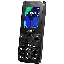 """Alcatel Onetouch 1054 Dual SIM - Móvil libre, Pantalla 1,8"""",  4 Mo, Cámara, Batería 800 mAh, Radio, Bluetooth, negro/ gris oscuro"""