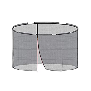 Ampel 24 Replacement Safety Net for Trampoline with Security Ring Ø 305 cm Replacement Mains Außenliegend | Extremely Tear-Resistant Garden Trampoline Replacement Net for 8 pole & UV Resistant