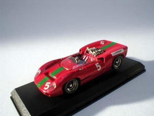 Best 9178 - Lola T70 Spider 1965 # 5 J.Stewart Brands Hatch - Modellauto 1:43 1965-spielzeug