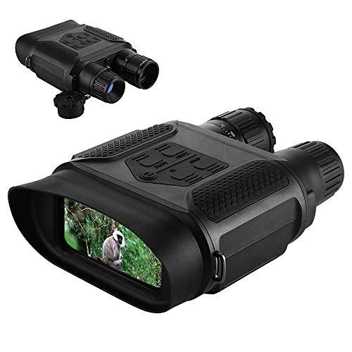 """Lixada 7x31 Tag/Nacht Vision Fernglas Digital Infrarot Nachtsichtgerät Foto Kamera & Video Recorder 400m / 1300ft Reichweite 2\"""" LCD-Bildschirm"""