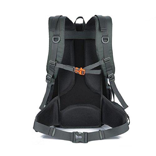LF&F Hochwertiges Wasserdichtes Nylon 40L KapazitäT Outdoor Sport Bergsteigen Tasche Camping Wandern GepäCk Tasche Wochenende Urlaub Party Picknick Lagerung Tasche D