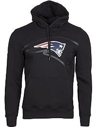 New Era Fleece Hoody - NFL New England Patriots 2.0 schwarz