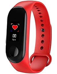 SAILINE Fitness Tracker,Frecuencia cardiaca,resistente al agua,IP67,pulsera inteligente de presión arterial con cronómetro,deportivo,GPS,podómetro,contador de calorías,para mujeres y hombres