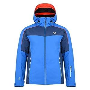 Dare 2b Herren Intermit Waterproof & Breathable High Loft Insulated Ski & Snowboard Jacket with Foldaway Hood, Articulated Sleeve Design & Snowskirt wasserdichte, isolierte Jacken