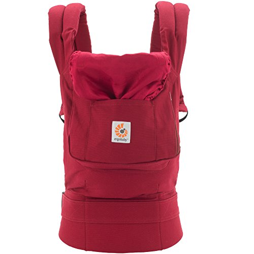 Ergobaby Babytrage Kollektion Original (5,5 – 20 kg), Red - 3