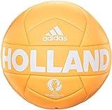 adidas Fußbälle EURO16 Holland Capitano in den holländischen Landesfarben, gold, 5, AC5459