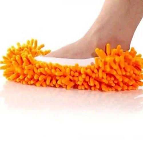nalmatoionme-cute-zapatos-piso-limpiador-de-polvo-mop-zapatillas-naranja