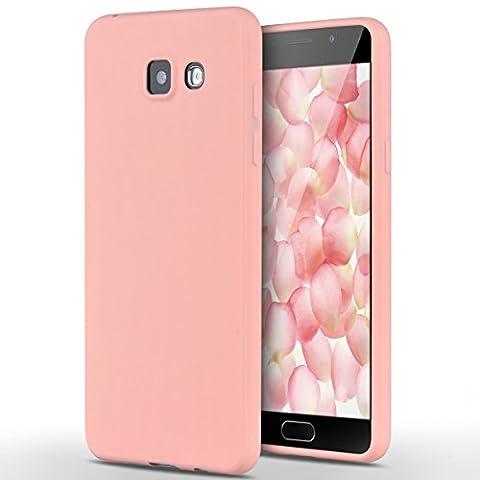 Samsung Galaxy A5 / 2016 Hülle, Yokata Einfarbig Jelly Weich