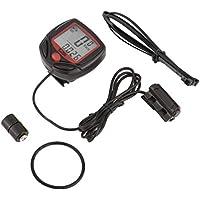 Fantasyworld SUNDING SD-546A Multifunktionsfahrrad-Computer verdrahtete Odometer Stoppuhr Mini-Digital-LCD Wasserdichte Speedometer Tracker