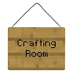Minecraft – Türschild Crafting Room