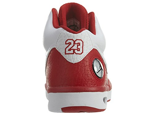 Nike Jordan Flight Tradition, Scarpe da Basket Uomo 102 WhiteRed