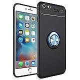 SORAKA Coque pour iPhone 6 Plus / 6S Plus, Boîtier Rotatif à 360 degrés pour Support de Bague de Doigt, boîtier Antichoc Mince Compatible avec Le Support de téléphone de Voiture magnétique