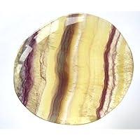 Scheibenstein Fluorit gelb-bunt gestreift Regenbogenfluorit 4 cm preisvergleich bei billige-tabletten.eu