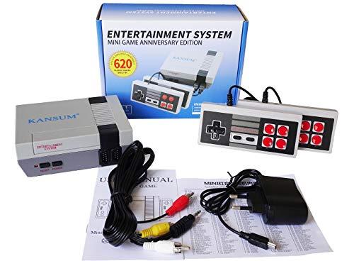 Console de jeu Mini TV familiale classique de 620 jeux,...
