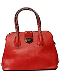 Vj's Sling Ladies Hand Bag With Red Color (12 Inch * 10 Inch)