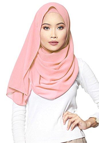 SAFIYA - Hijab pour femmes musulmanes voilées I Foulard voile turban  écharpe pashmina châle robe islamique d33dc10e924