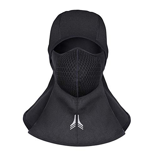 Fall Direct Vent (WATERFLY Sturmhaube Balaclava Ski Face Mask Windproof Men Women Warm Hood Winter Masks Thermal Fleece Fabric with Breathable Vents for Cold Cycling Skiing Motorcycle Snowboard Tactical Hunting)