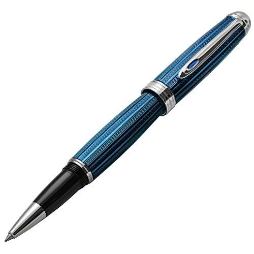 Xezo Freelancer schwere Messing Tintenroller, Venedig blau Farbe (Freiberufler, venezianischen blau R) -