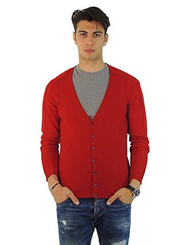 Underscore - Gilet - Homme Rouge