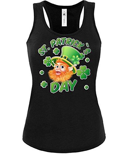 0 Damen Tank Top (TT-F-SW-Grün) Gr. L (Womens St Patricks Day Kostüme)