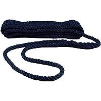 Navyline PP Festmacher-Leine mit Auge - Navyblau