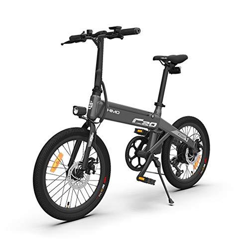 Lixada HIMO C20 20 Pulgadas Plegable 80KM Range Power Assist Bicicleta eléctrica ciclomotor E-Bike...