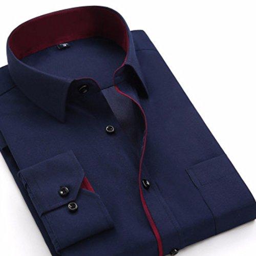Mens Herren Hemden Wihte Formal Imported Shirts BK18