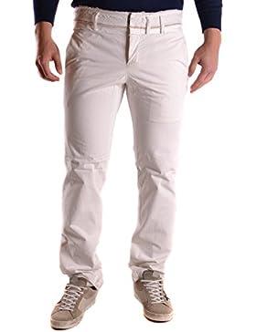 Yohji Yamamoto Hombre MCBI317038O Blanco Algodon Pantalón