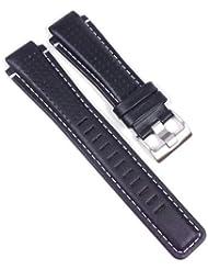 Timex T2N740-Band - Correa de cuero , color negro (16)