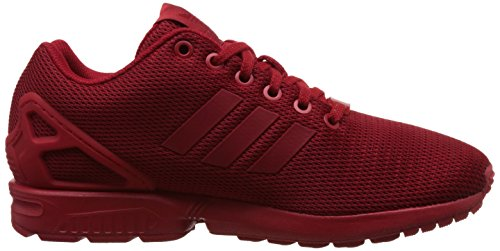 adidas Herren Zx Flux Low-Top Rot (Power Red/Power Red/Collegiate Burgundy)