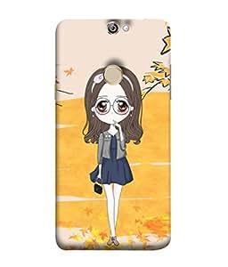 PrintVisa Designer Back Case Cover for Coolpad Max A8 (Spectacles Handbag)