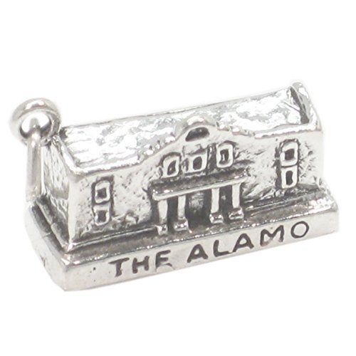 the-alamo-argento-sterling-ciondolo-925-x-1-america-messico-battaglie-charms-sslp1858