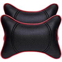 wxzdq 2pcs suministros de automocion, accesorios para automoviles, asiento de almohada, la almohada, cuello almohada asiento,E