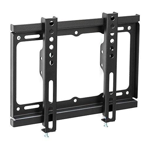TecTake 401328 Universal TV Wandhalterung für Flachbildschirme bis VESA 200x200, passend für 43 - 94 cm (17 -37 Zoll), belastbar bis 60kg