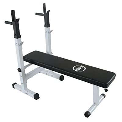 FoxHunter New Heavy Duty Shoulder Chest Press Sit Up Weight Bench For Standard Olympic Curl Barbell Workout Fitness Home Gym Equipment 160kgs Maximum Barbell Weight 120kgs Maximum User Weight from TNP Accessories