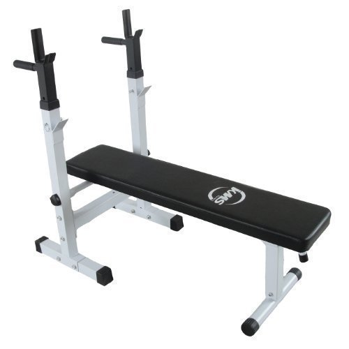 foxhunter-new-heavy-duty-shoulder-chest-press-sit-up-weight-bench-for-standard-olympic-curl-barbell-