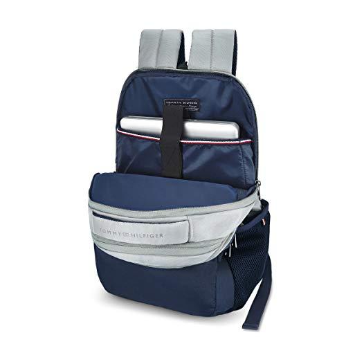 Tommy Hilfiger Rene 25 Ltrs Light Grey Laptop Backpack (TH/RENELAP07) Image 4