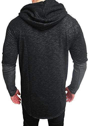 Oversize Kapuzenpullover double layer Designer Sweat Jacke Cardigan Hoody Pullover Shirt Herren Hoodie Longsleeve m long Sweatjacke Sweatshirt NEU - 2