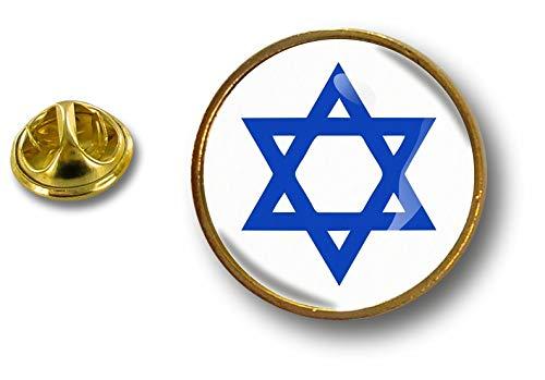 Akacha pin flaggen Button pins anstecker Anstecknadel kokarde air Force Israel davidstern
