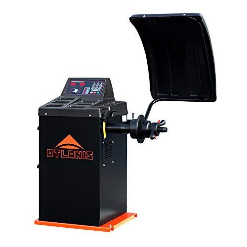 "ATLANIS Auswuchtmaschine Reifen Halbaut. 230V, 10-24"" mit LED-Display - A-HA-2000-230V-V02"